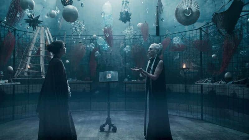 The witches' den in Luna Nera