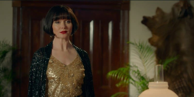 Essie Davis in Miss Fisher and the Crypt of Tears