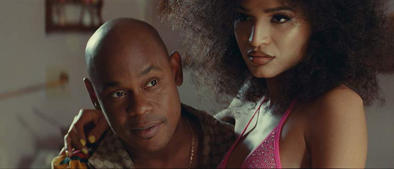 Bokeem Woodbine and Indya Moore in Queen & Slim