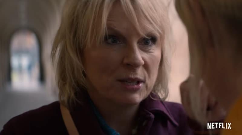Jennifer Saunders in The Stranger