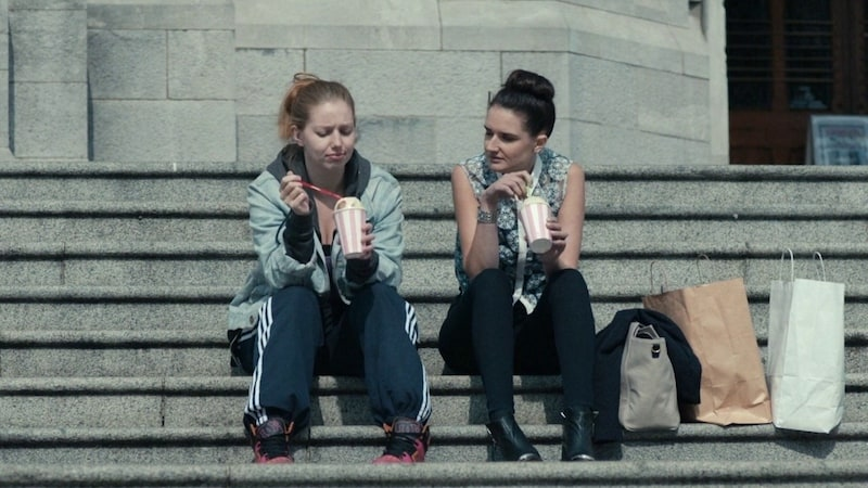 Seána Kerslake and Charleigh Bailey  in A Date for Mad Mary