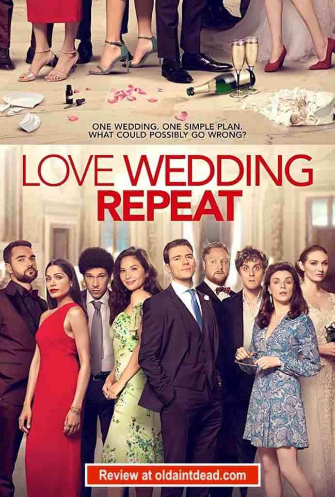 poster for love wedding repeat