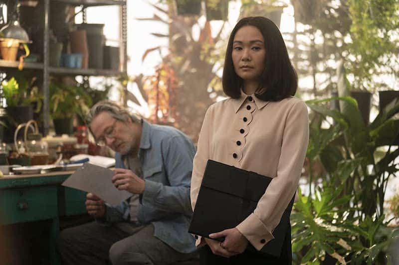 Chris Cooper and Hong Chau in Homecoming