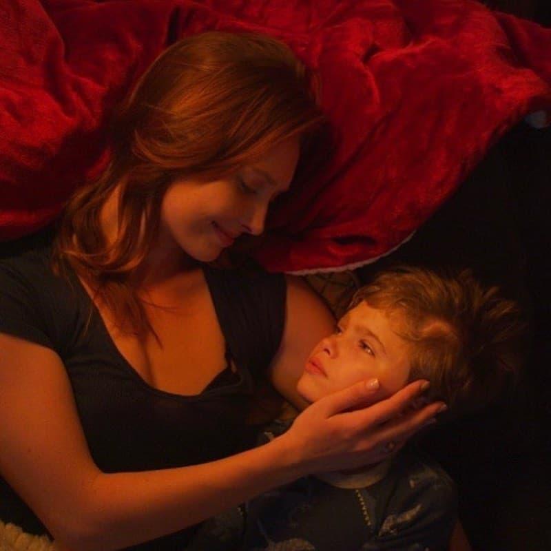 Kayla Radomski and Cale Ferrin in More Beautiful for Having Been Broken