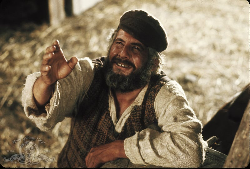 Fiddler on the Roof, a gem from 1971