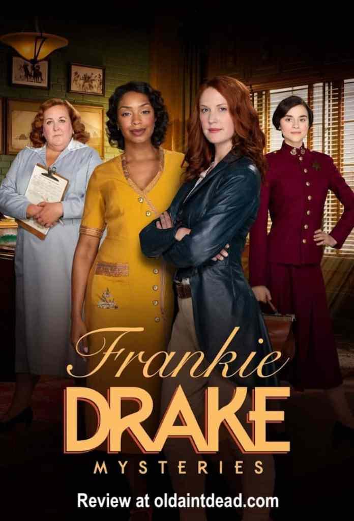 Poster for Frankie Drake Mysteries
