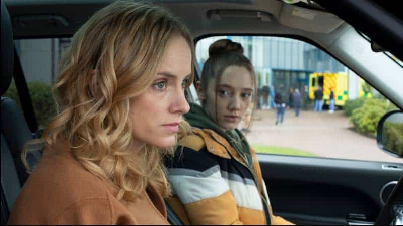 Mirren Mack and Sophie Rundle in The Nest