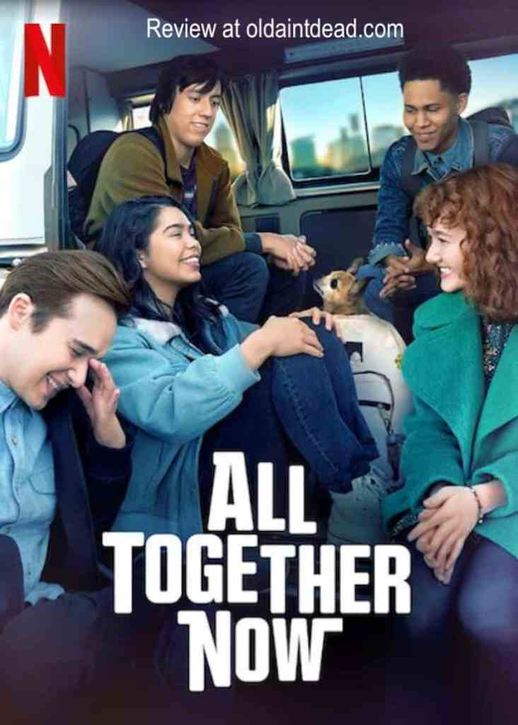 The poster for All Together Now