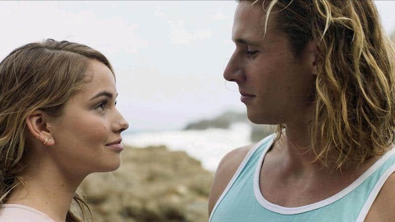 Debby Ryan and Andrew Creer in Rip Tide