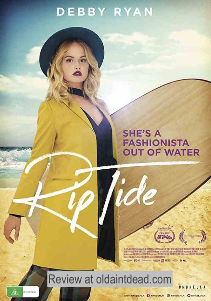 Rip Tide poster featuring Debby Ryan