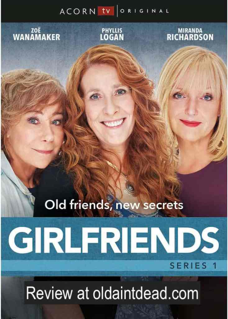 The poster for Girlfriends