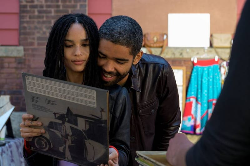 Zoë Kravitz and Kingsley Ben-Adir in High Fidelity