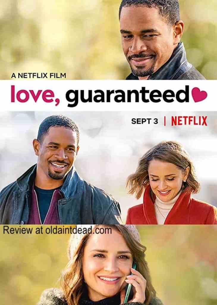 The poster for Love, guaranteed