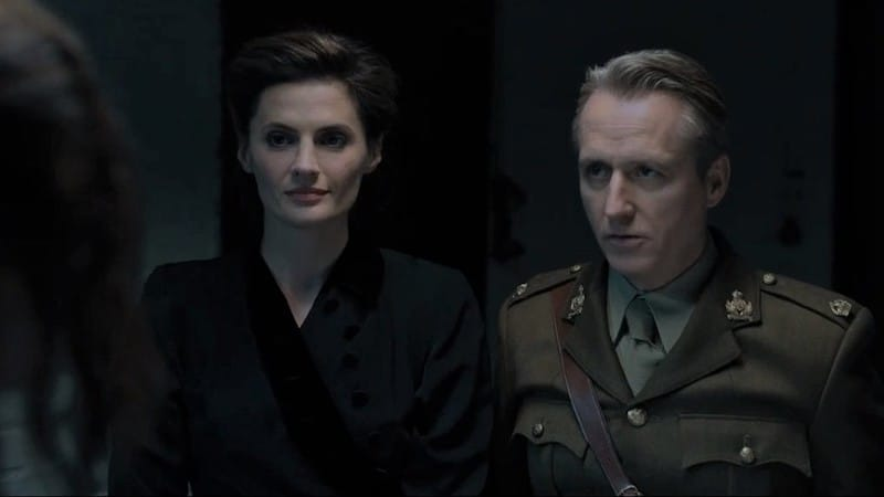 Linus Roache and Stana Katic in A Call to Spy