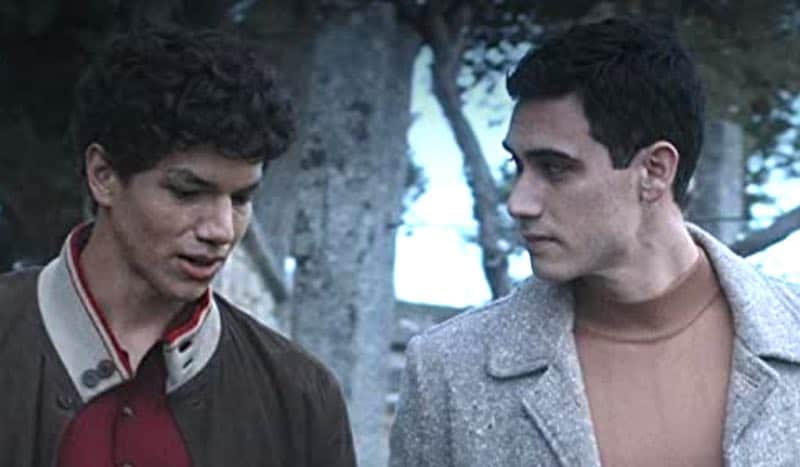 Alejandro Speitzer and Isaac Hernández in Someone has to Die