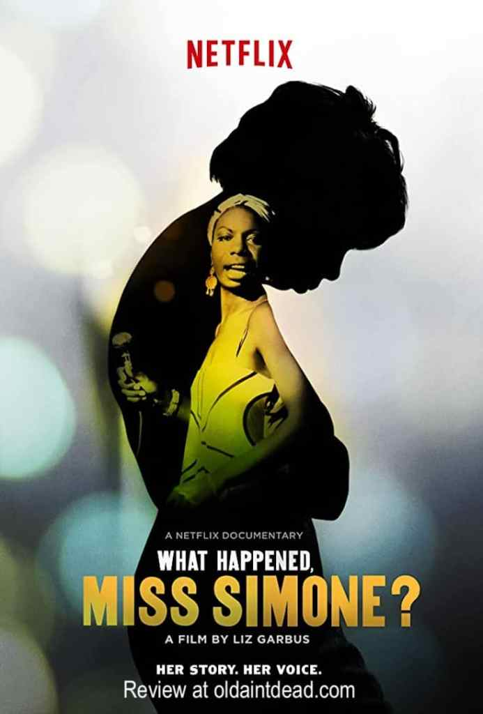Poster for What Happened Miss Simone?
