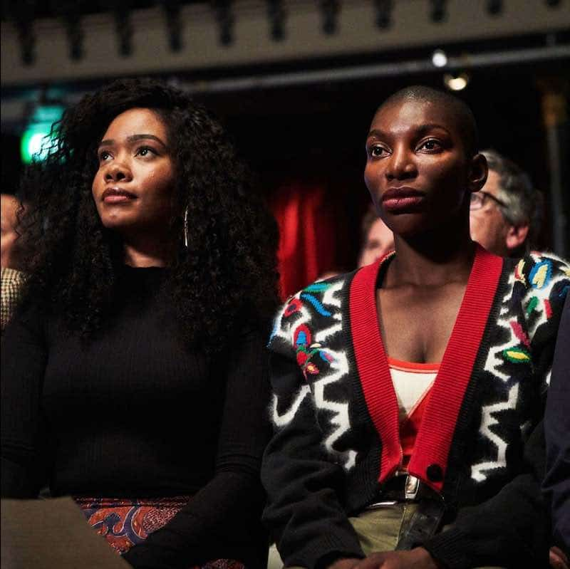 Weruche Opia and Michaela Coel in I May Destroy You