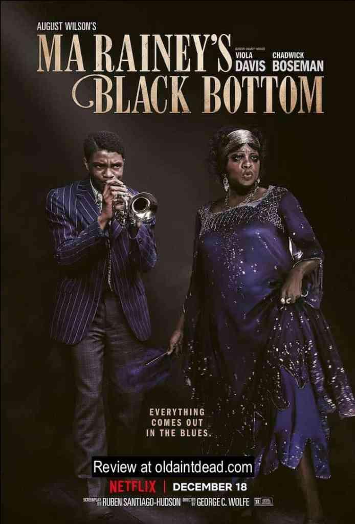 Poster art for Ma Rainey's Black Bottom