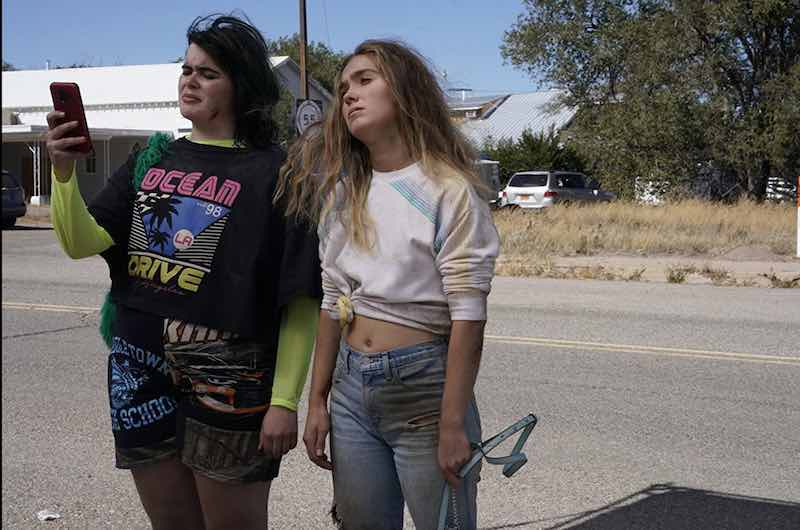 Haley Lu Richardson and Barbie Ferreira in Unpregnant
