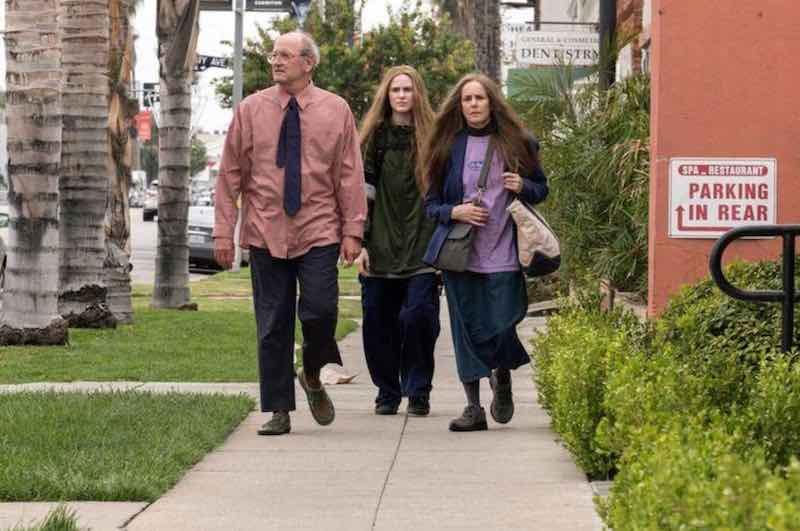 Richard Jenkins, Debra Winger, and Evan Rachel Wood in Kajillionaire