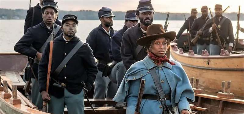 Tubman leading Union troops