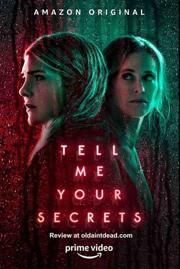 The poster for Tell Me Your Secrets