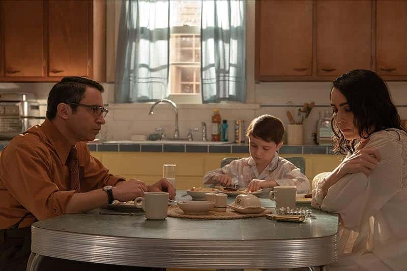 Chris Messina, Noomi Rapace, and Jackson Dean Vincent in The Secrets We Keep