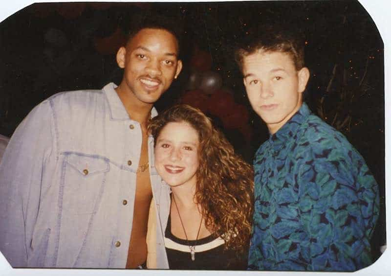 Will Smith, Mark Wahlberg, and Soleil Moon Frye in Kid 90