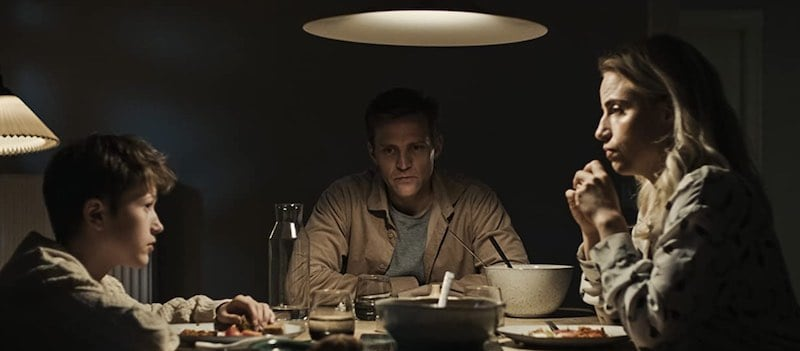 Louis Næss-Schmidt, Tobias Santelmann, and Josephine Park in Blinded- Those Who Kill