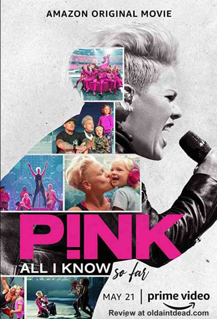 Poster for P!nk All I Know so Far