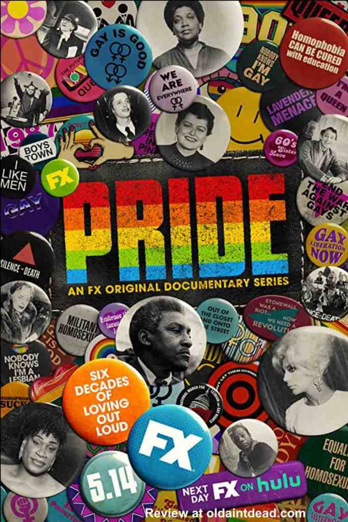 Poster for the PRIDE documentary series