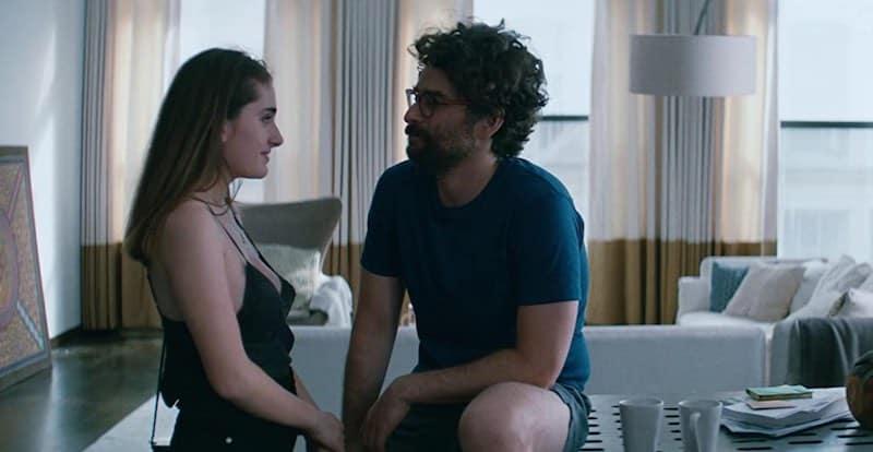 Danny Deferrari and Rachel Sennott in Shiva Baby