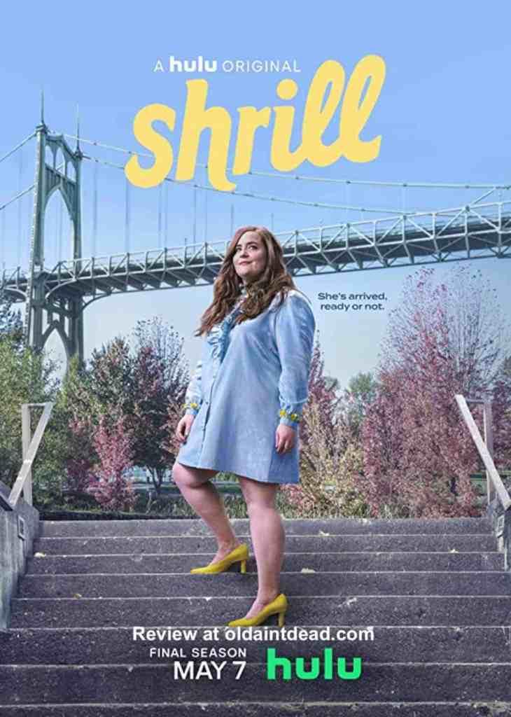 Poster for season 3 of Shrill