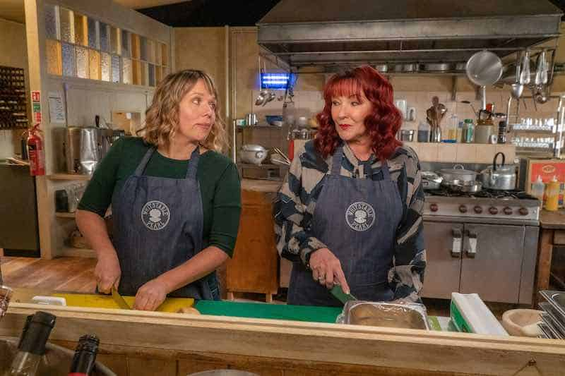 Kerry Godliman and Frances Barber in Whitstable Pearl