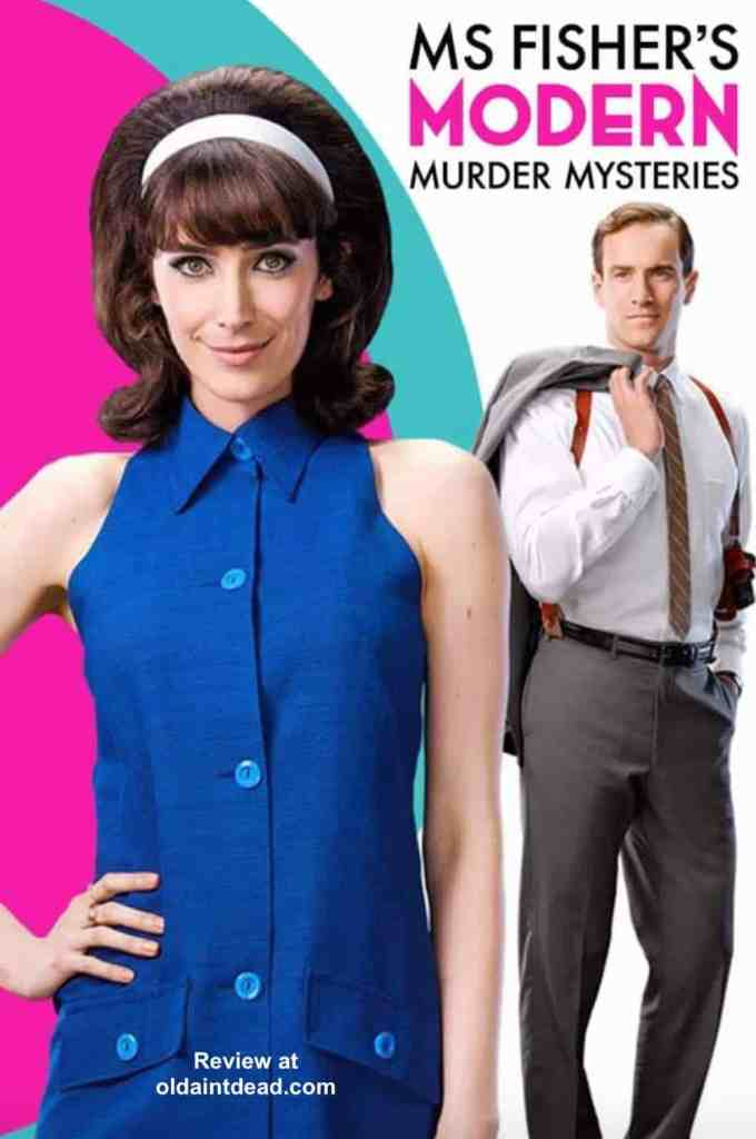 Poster for Ms Fisher's Modern Murder Mysteries