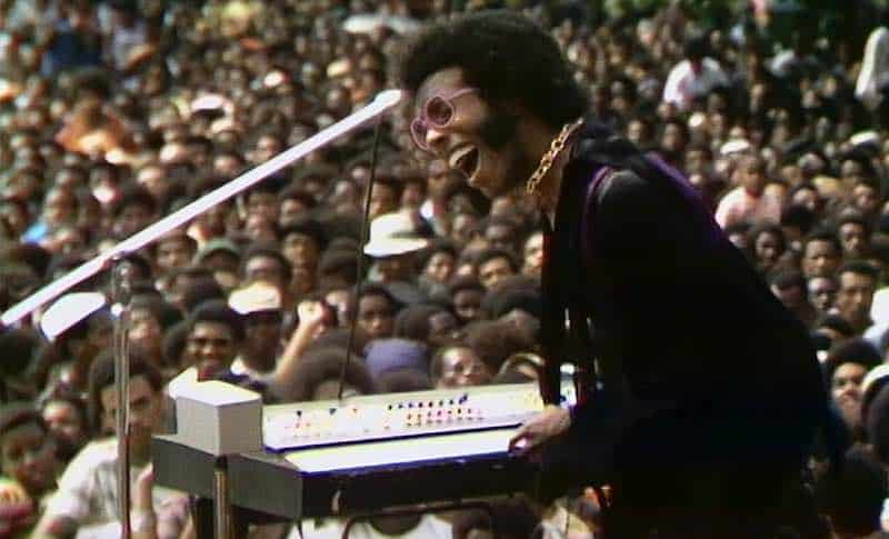 Sly of Sly and the Family Stone in Summer of Soul