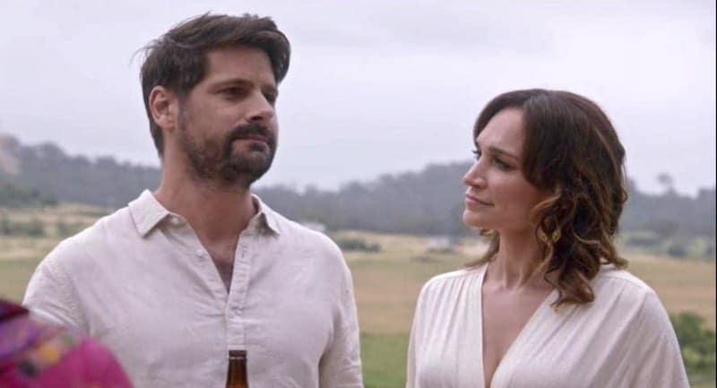 Ryan Johnson and Nicole da Silva in The Heart Guy