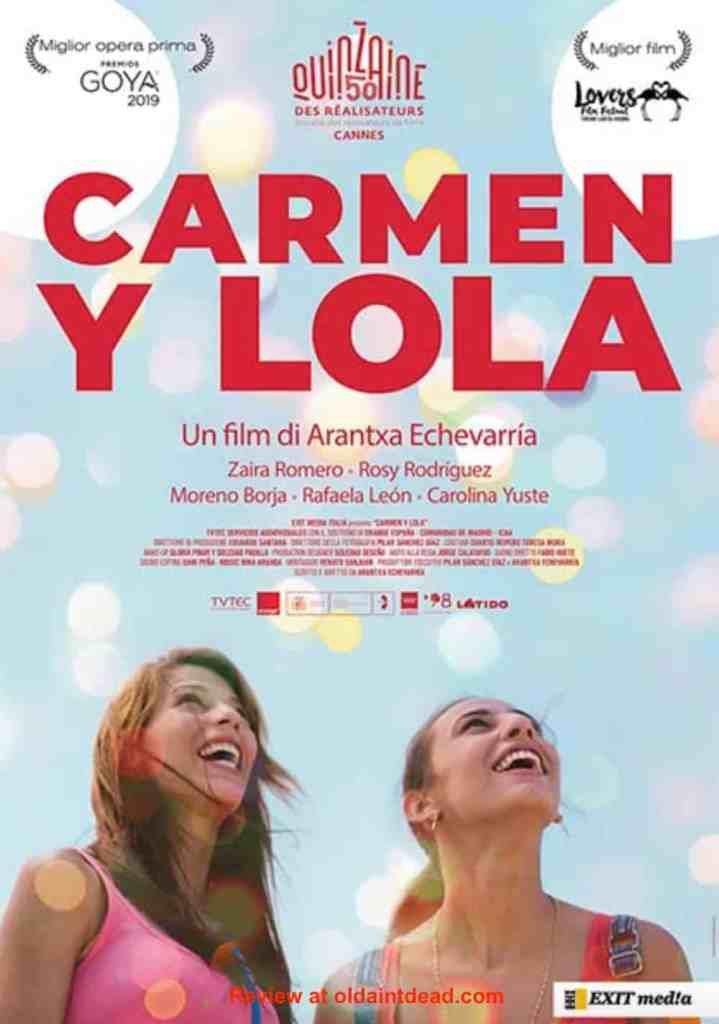 poster for Carmen and Lola