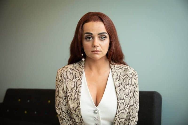 Hayley Squires in Adult Material