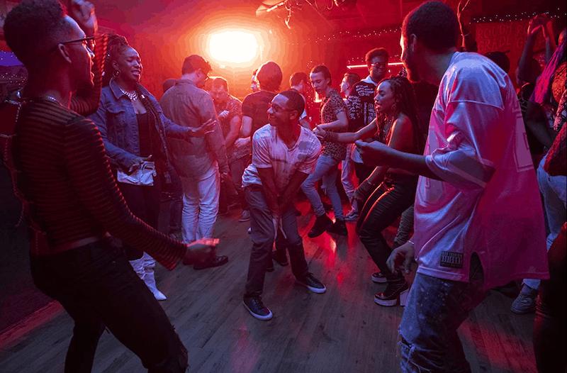 a dance scene on Dear White People