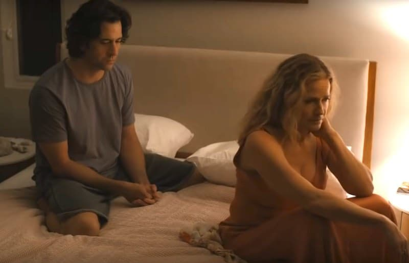 Elisabeth Shue and Troy Garity in One the Verge