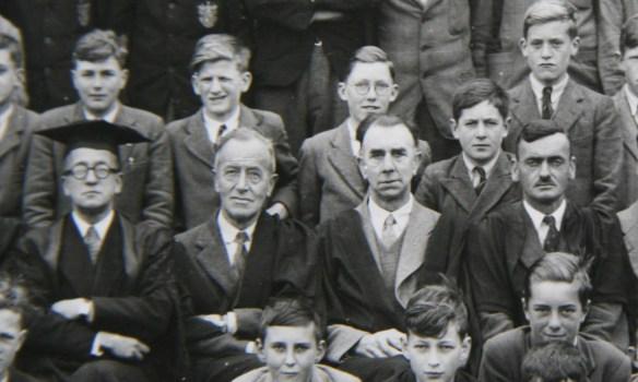 Captain Dixon in May 1946