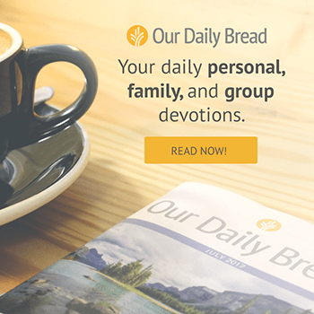 Our Daily Bread Ministries Banner Image