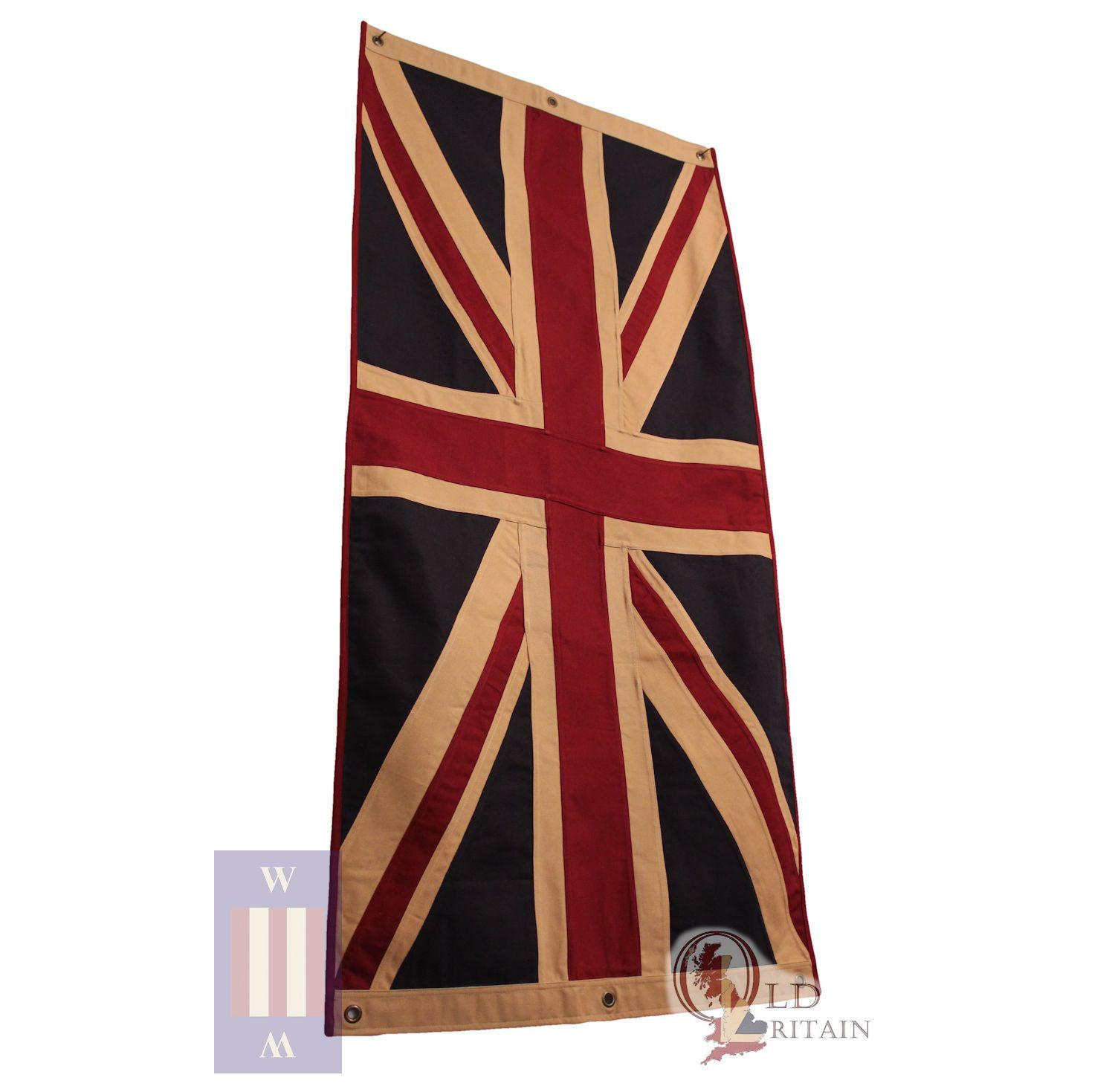 d605ac68dc72 Vintage British / Union Jack Flag - Large Single layer - large uj101eco
