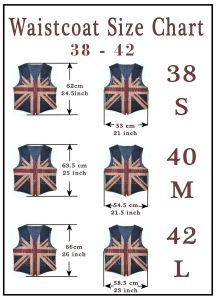 oldbritain waistcoat sizes 1