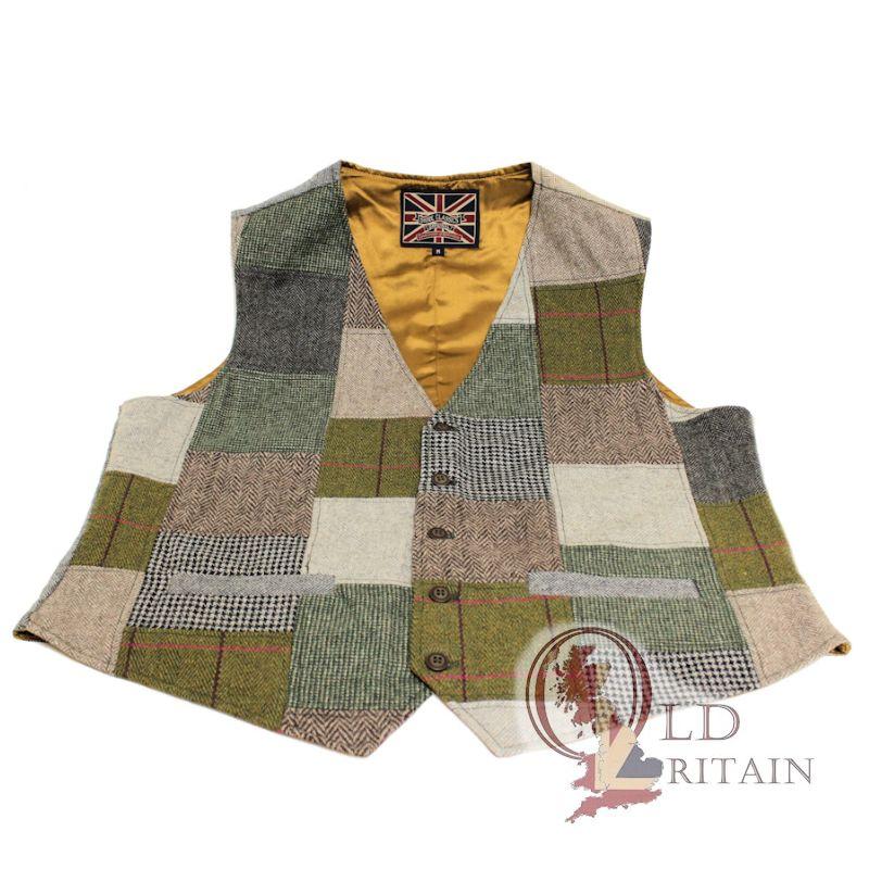 tweed waistcoat