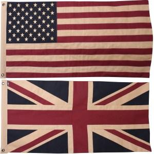 Union & American Flag