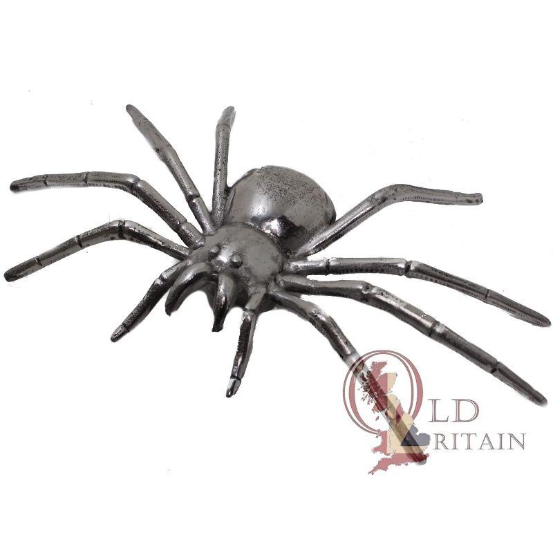 metal spider wall sculpture