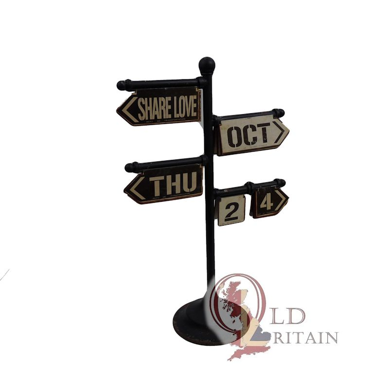 sign post calendar