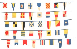40-flag nautical bunting